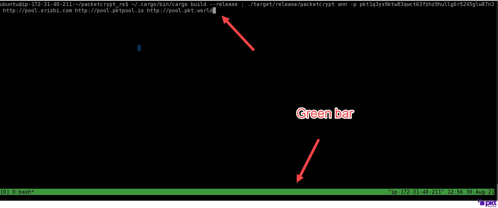 Greenbar PKT
