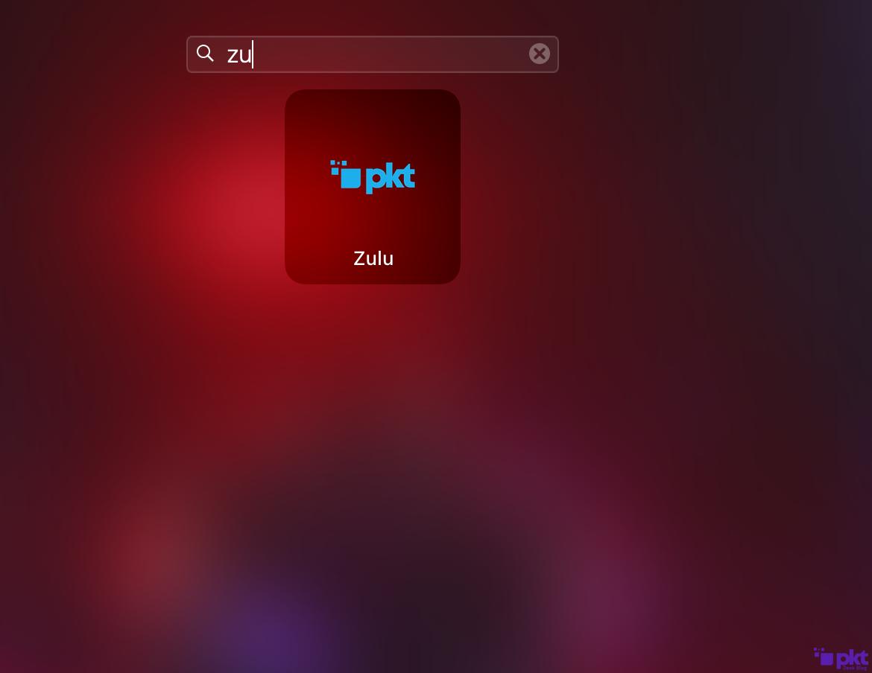 Open the Zulu Wallet