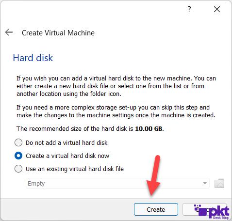 Virtual Machine for Size